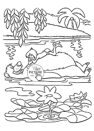 Mowgli And Balu Of The Jungle Book Coloring Page For Kids Disney Pages Printables