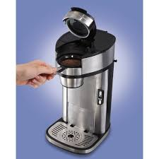Commercial Single Serve Coffee Machines New Hamilton Beach The Scoop Maker Reviews