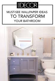 Best Bathroom Wallpaper Ideas - 17 Beautiful Bathroom Wall Coverings Bathroom Wallpapers Inspiration Wallpaper Anthropologie Best Wallpaper Ideas 17 Beautiful Wall Coverings Modern Borders Model Design 1440x1920px For Wallpapersafari Download Small 41 Mariacenourapt 10 Tips Rocking Mounted Golden Glass Mirror Mount Fniture Small Bathroom Ideas For Grey Modern Pinterest 30 Gorgeous Wallpapered Bathrooms