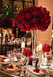 Breathtaking Dark Red Wedding Decorations 37 With Additional Table Numbers For