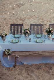 Wedding Reception Ideas Beach Vintage Table