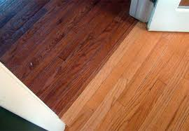 Can You Steam Clean Prefinished Hardwood Floors by Refinishing Beveled Hardwood Floors Job Example