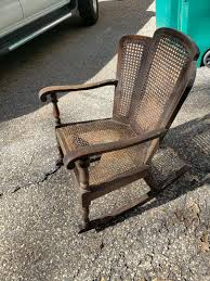 Antique Cane Rocking Chair - Grass Valley - Antiques & Collectibles ...