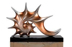 kunstloft skulptur unter dem ozean 43x6x31cm moderne