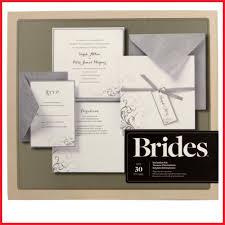 Homemade Wedding Invitation Kits 230471 Brides Silver And White Pocket Kit