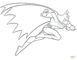 Batman Fancy Coloring Pages