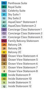Celebrity Constellation Deck Plan Aqua Class by Celebrity Constellation Cruise Ships Celebrity Cruises