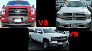 2017 Ford F-150 Vs 2017 Chevy Silverado Vs 2017 Ram 1500 - YouTube