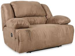 Ashley Furniture Hogan Reclining Sofa by Oversized Recliner Mathis Brothers