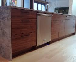 Ikea Kitchen Cabinet Doors Custom by Ikea Kitchen With Semihandmade Flatsawn Walnut Fronts