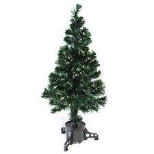 Small Fibre Optic Christmas Trees Uk by Kingfisher 3ft Fibre Optic Christmas Tree With Warm White Led
