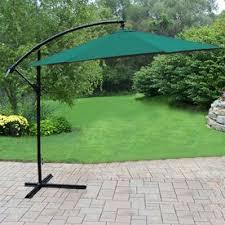 Patio Umbrella Offset 10 Hanging Umbrella by Shop Offset Patio Umbrellas At Lowes Com