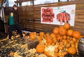 Dogfish Head Punkin Mug by Killer Pumpkin Festival Presented By Brewpublic