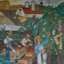 Coit Tower Murals Images by Coit Tower Albro Mural San Francisco Ca Living New Deal