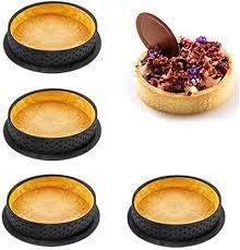 vionnppt 4 stück kuchen form französisch dessert runde form