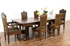 SOLD - Victorian Eastlake 1890 Antique Walnut Dining Table, 5 Leaves ... Julian Bowen Huxley Walnut Round Ding Table With 4 Chairs Fniture Of America Set Cm3354rt Winsome Groveland Square 2 3piece Lola Modern Wenge Martin Marble Top Dark Coaster 105361 Malone 5 Piece Flatfair Zuo Virginia Key Oval Tables Vancouver Lisandro Regular 16 Sets Lipper Childrens And Walmartcom Buy Acme Danville 07059 9 Pcs In Black Espresso Sydney 5ft 6 Dublin Ireland Store