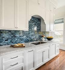 blue and white kitchen backsplash tiles best of white kitchen