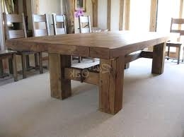 Square Kitchen Table Sets Rustic Dining Room Tables At Decoration