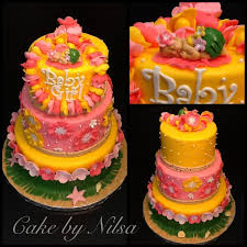 Hawaiian Baby Shower Cake Mojees Cakes In 2019 Hawaiian