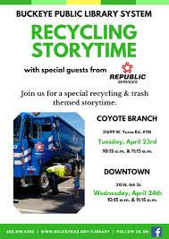 100 Yuma Truck Driving School Earth Day Celebration II DT Storytime City Of Buckeye