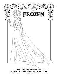 Elsa Printable Coloring Pages Corresponsables Co