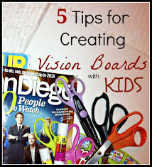 Creating Vision Boards With Kids
