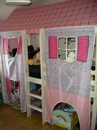 chambre enfant fille pas cher lit mi hauteur cabane pour fille pas cher priceminister déco