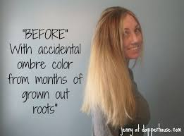 The Accidental Ombre and Color with Madison Reed at Home MRHairColor