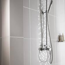 faïence mur gris galet n 5 loft brillant l 20 x l 50 2 cm leroy