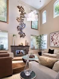 Living Room High Ceiling Wall Decoration Ideas Clocks For Ar