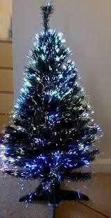 3ft Christmas Tree Fibre Optic by Fiber Optic Tree Christmas Home Decorating Interior Design