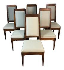 1960s Maple High Back Dining Chairs, Set Of 6 | Chairish