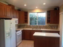 Custom End Unit Shelves For Kitchen