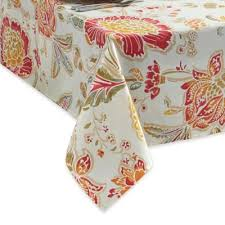 Square Patio Table Tablecloth With Umbrella Hole by Buy Outdoor Umbrella Tablecloths From Bed Bath U0026 Beyond