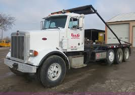 100 Rolloff Truck For Sale 1993 Peterbilt 357 Roll Off Truck Item D5765 SOLD March