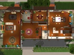 Sims 3 Legacy House Floor Plan by 7th Heaven Floor Plan Of The House House And Home Design