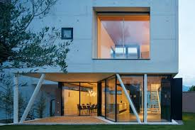 100 Glass Walls For Houses Concrete House Uses Old Walls To Create Private Patio Allowing To