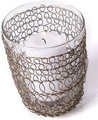 espo 2er set windlicht glas für kerzen 12 cm hoch zur deko