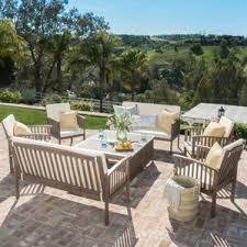 wood patio furniture you ll wayfair