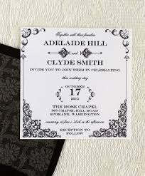 DIY Vintage Wedding Iron Lace Invitation Template