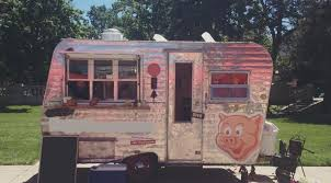 FULLY LOADED 1940S CAMPING TRAILER FOOD TRUCK START SELLING ASAP