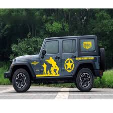 100 Cool Truck Stickers Amazoncom Fochutech Jeep Decals SUV Side Decals