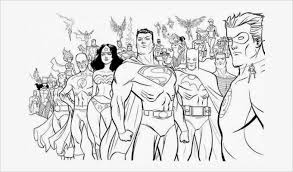 All Superhero Coloring Pages