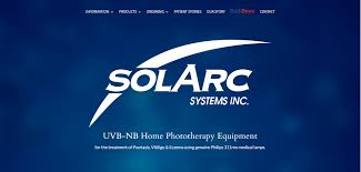 Tanning Lamps For Psoriasis by Solarc Systems Uvb Home Phototherapy Devices