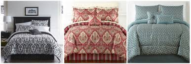 JCPenney Select 8 Piece Bedding Sets ly $29 99 Reg Up to $170