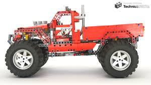 100 Lego Technic Monster Truck BRICKs TBs TechReview 37 42029 Costumized Pick Up