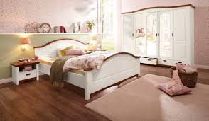 home affaire schlafzimmer set konrad set 5 tlg mit 5 trg kleiderschrank bett 180 200 cm und 2 nachttischen