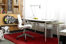 amazon com herman miller setu chair ribbon arms hard floor