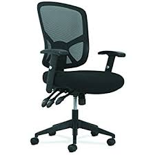 Office Chair With Arms Or Without by Amazon Com Hon Volt Leather Task Chair Mesh Back Computer Chair