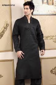 Black Kurta Shalwar For Men 3